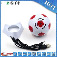 portable golf ball shape bluetooth speaker