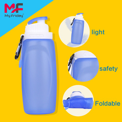 Wholesale good quality soft colorful bpa free silicone plastic mug with lid