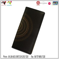 Have a pleasant journey with men's genuine leather travel wallet