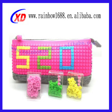 New Brand Fashion Silicone pixel Bag For Shopping High Quality Fashion Style