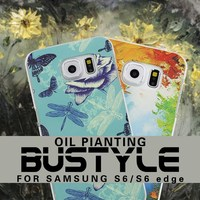 Soft case for samsung s6 s6edge with 3D oil painting design and you can have your own unique design