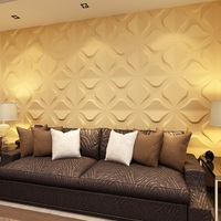good designs high quality indoor decoration with 3d wall panels