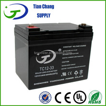 Exide 12V 33Ah Maintenance Maintainance Free Lead Acid Recharge Deep Cycle Gel Battery For Solar PV Power Storage