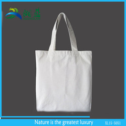 new product natural reusable blank cotton tote bags