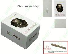 Smart Watch 2012 hot item smart watch phone with sim card+fm radio