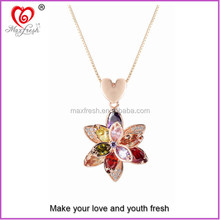 Maxfresh latest design fashion meaningful necklace chain fashion jewelry necklace chain