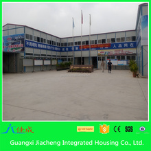 Light Steel Frame House Low Cost 2 Story Prefabricated House