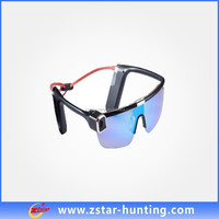 2015 newest beach volleyball sports sunglasses with wifi remote