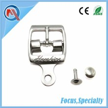 22mm Silver Decorative Shoe Buckle With Rivet