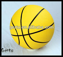 promotional size 7 rubber basketball