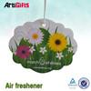 Commemorative cheap customised hanging paper car air freshener