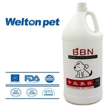Large size White Egg protein moisturizing pet shampoo for pets, Best choice for pet groomers