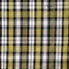 poplin in stock cotton check stripe yarn dye fabrics