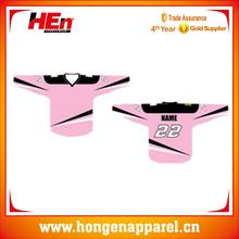 Hongen sublimated practice ice hockey uniform bright /funny ice hockey uniform style