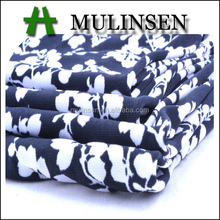 Knitted polyester FDY spandex printed fabric
