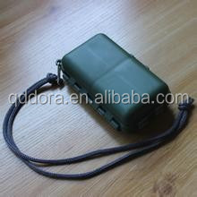 High quality small size plastic fishing tackle box