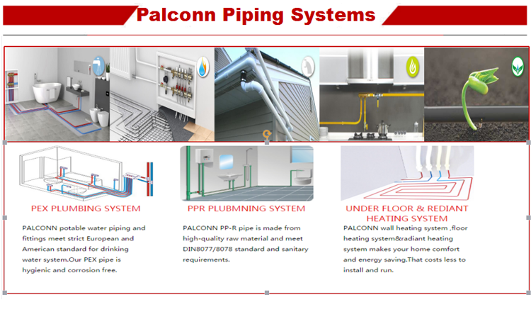 4 Palconn piping system