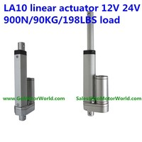 LA10 High Quality mini electric linear actuator for bed /robot/skylight/solar pannel
