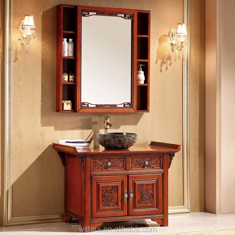 Wts 828syo contemporain asiatique style salle de bains for Meuble asiatique contemporain
