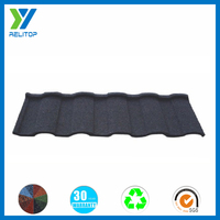 Roman style sand chip coated roof top waterproof materials