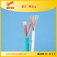 RV soft copper wires used for household wiring