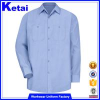 Royal blue mens dress shirt and pants