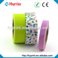 customized washi DIY cartoon paper tape with holiday theme