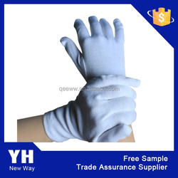 2015 white marching gloves waiter accessories white gloves for waiters