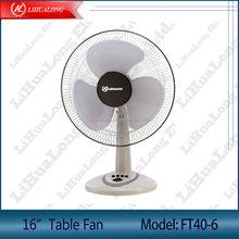 16 inch desk fan with timer Model FT40-6 detachable base