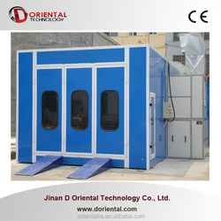 DOT-C10 car spray house for sales / paint booth used spray booth for sale