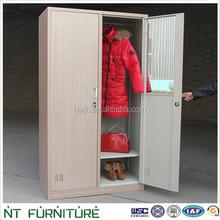 Bedroom locker 2 door clothing locker/wardrobe with K/D structure