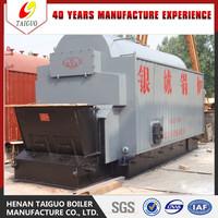 High efficiency automatic rice husk boiler & coal fired hot water boiler