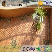 long lifetime coffee brown Non-swelling anti-mildew decoration composite wpc kitchen wood decking