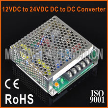 25W 2:1 Wide Input Range CE RoHS Approved 12VDC to 24VDC DC to DC Converter SD-25A-24