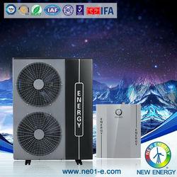 Inverter dc ac low temp -25 degree split system EVI Air to water heat pump