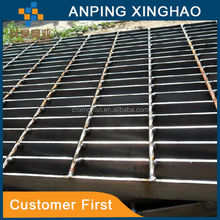 China hot-dipped galvanized steel grating used for swimming pool