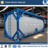 2015 Top Ranking Liquid Asphalt/Bitumen Tank Container with Heating System