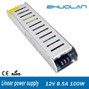 85~265VAC selected by switch DC 12V 8.5a 100w Single Output Type non-waterproof linear led power supply