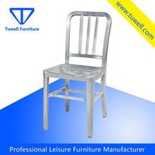 TW1005 Silver Indoor Cafe Aluminium Emeco Navy Chair