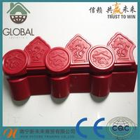 new material ASA unique synthetic resin corrugated roof tiles for wholesales