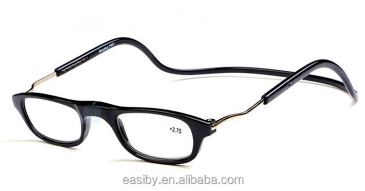 new fashionable wholesale magnetic split reading glasses