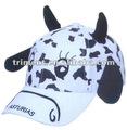 Sombreros de algodón, de animales, para niños con impresión de la cola