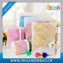 Encai Wholesale 5pcs Nylon Mesh Laundry Bags Clothes Protection Washing Bags Cheap Bag For Laundry
