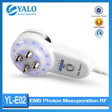 Yl-e02 radio frequenza apparecchiatura di bellezza maniglia può essere pelle rimosso viso rassodante bellezza/bellezza rf