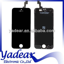 Digitizer glass for Iphone 5C china lcd for Iphone 5C lcd front housing for Iphone 5C