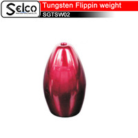 chinese fishing sinker cheap tungsten Flippin weights distribute tungsten fishing weights fishing sinker