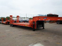 CIMC Extendable Low Bed Semi Trailer flatbed truck dimensions