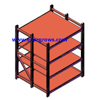 factory In Dongguan China for warehouse storage system iso9001 certified fifo shelf