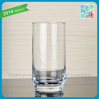 promotional selling pint glass stylish juice glass wholesale drinking glass cups