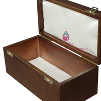wooden wine packaging box with window